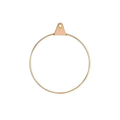 Strups Ring mit Aufhängung Brass 16cm