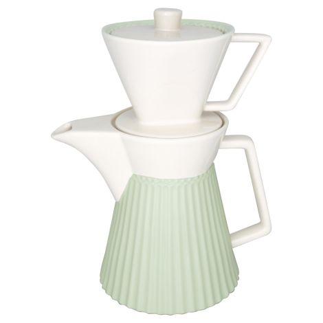 GreenGate Kaffeekanne mit Filter Alice Pale Green