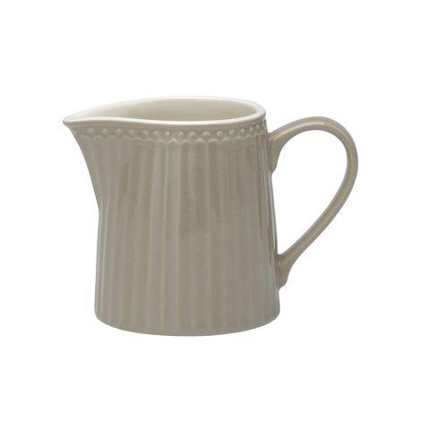 GreenGate Milchkännchen Alice Warm Grey