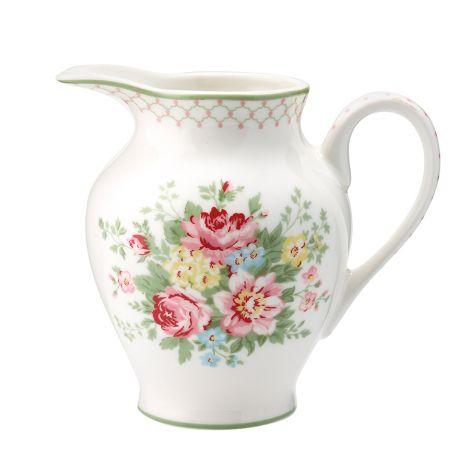 GreenGate Milchkännchen Aurelia White