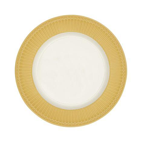GreenGate Speiseteller Alice Honey Mustard 26,5 cm
