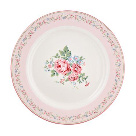 GreenGate Speiseteller Marley Pale Pink 25,3 cm