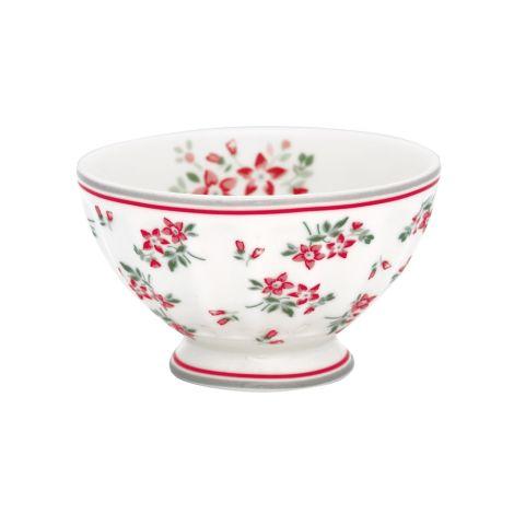 GreenGate French Bowl Avery White M