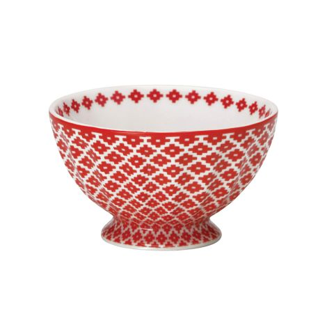 GreenGate French Bowl M Judy Red