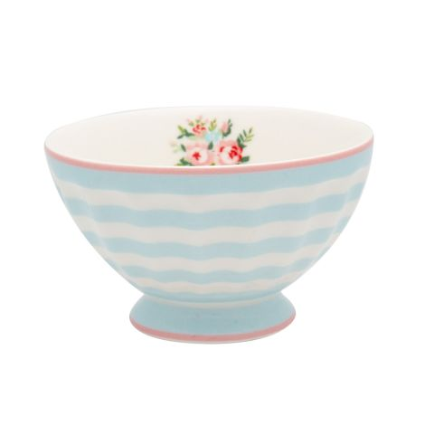 GreenGate French Bowl Nellie Pale Blue M