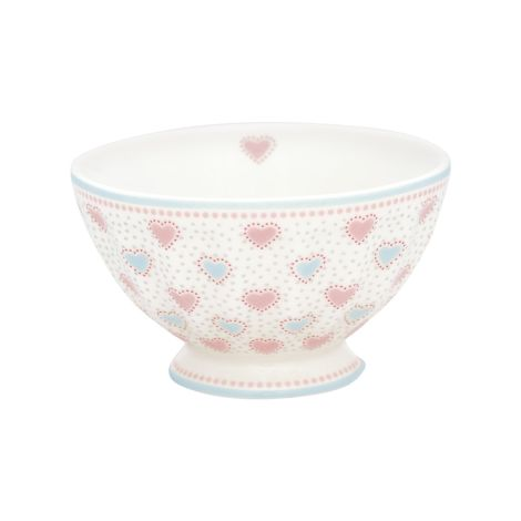 GreenGate French Bowl Penny White M