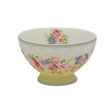GreenGate French Bowl Rose Pale Yellow