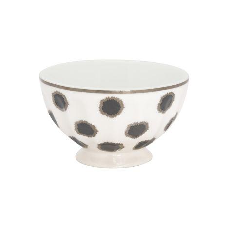 GreenGate French Bowl Savannah White M
