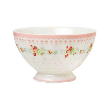 GreenGate French Bowl Sinja White M