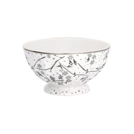 GreenGate French Bowl Amira White XL