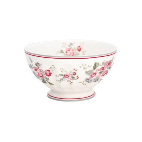GreenGate French Bowl Elouise White XL