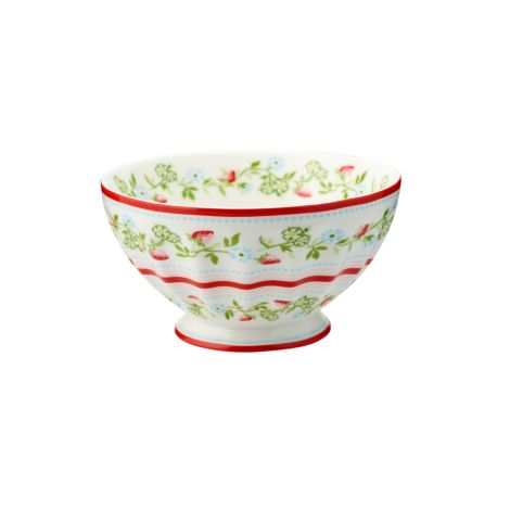 GreenGate French Bowl Gloria White XL
