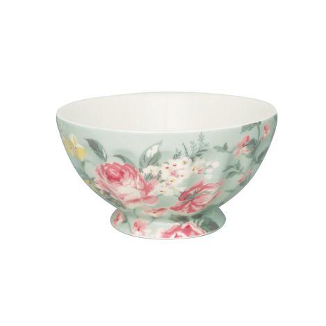 GreenGate French Bowl Josephine Pale Mint XL