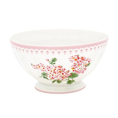 GreenGate French Bowl Luna White XL