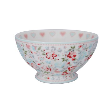 GreenGate French Bowl Schüssel Merla White XL