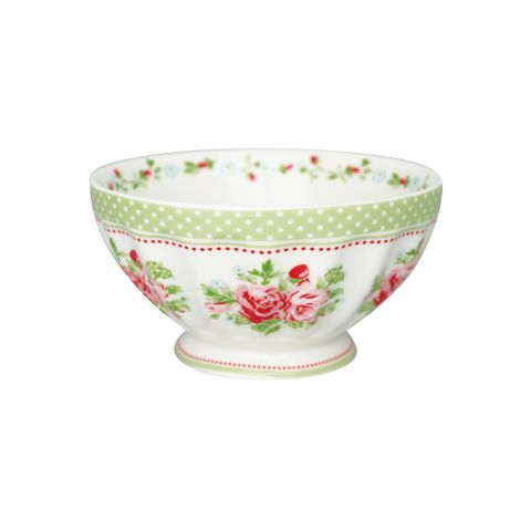GreenGate French Bowl Mary White XL