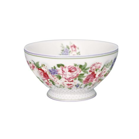 GreenGate French Bowl Rose White XL