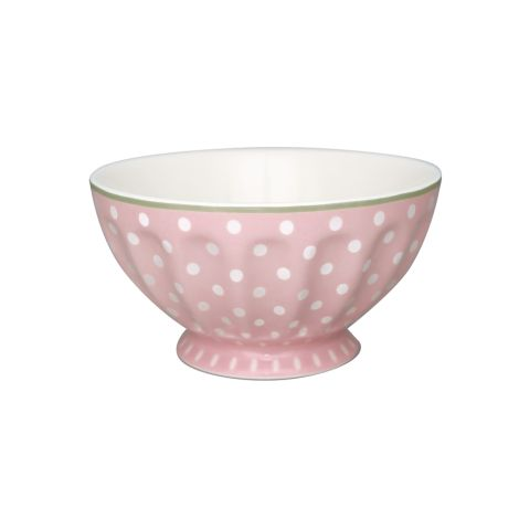 GreenGate French Bowl Spot Pale Pink XL