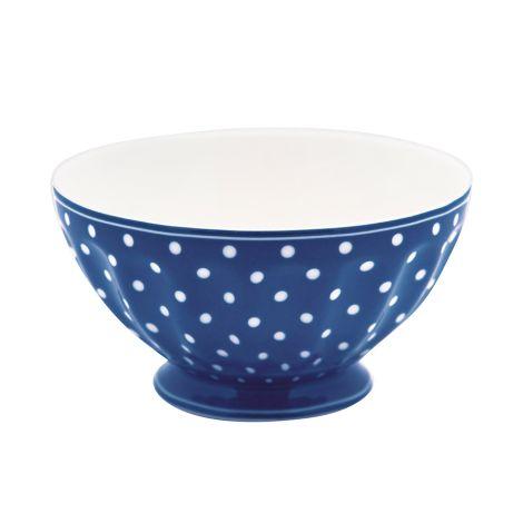 GreenGate French Bowl Spot Blue XL