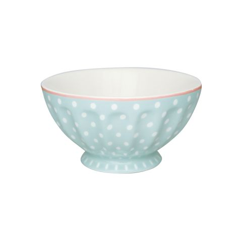 GreenGate French Bowl Spot Pale Blue XL •