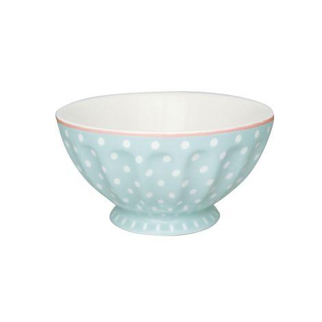 GreenGate French Bowl Spot Pale Blue XL