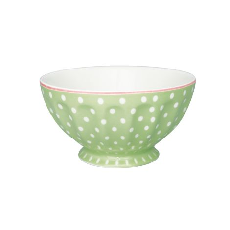 GreenGate French Bowl Spot Pale Green XL