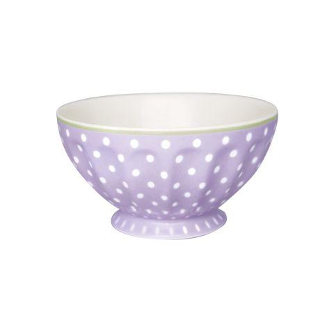 GreenGate French Bowl Spot Lavendar XL •