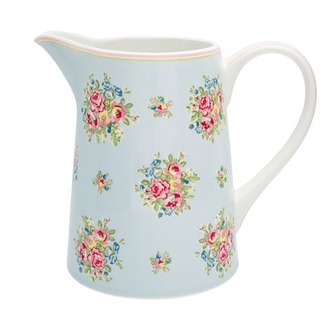 GreenGate Krug Franka Pale Blue 1L