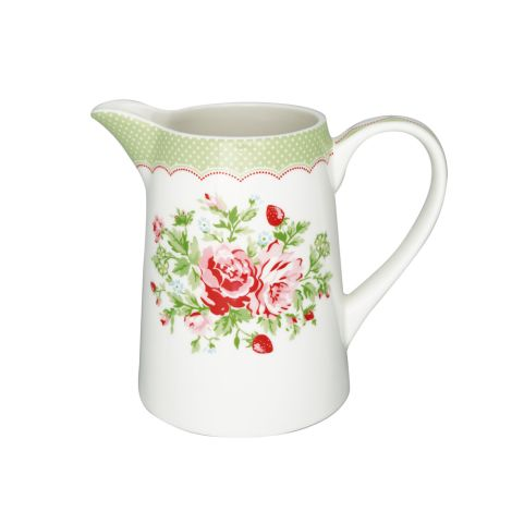 GreenGate Krug Mary White 1L