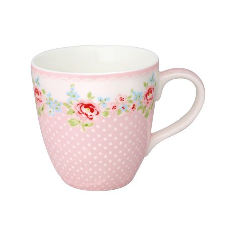 GreenGate Tasse für Kinder Meryl Pale Pink