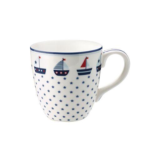 GreenGate Tasse für Kinder Noah Blue