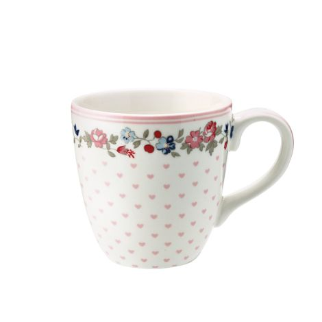 GreenGate Tasse für Kinder Ruby Petit White