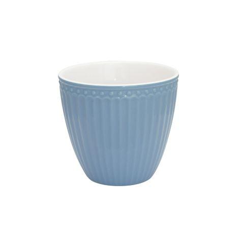 GreenGate Latte Cup Becher Alice Sky Blue