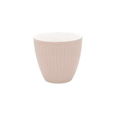 GreenGate Latte Cup Becher Alice Creamy Fudge