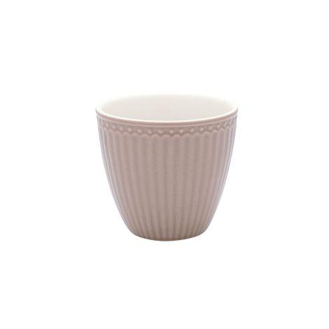 GreenGate Latte Cup Becher Alice Hazelnut Brown