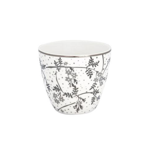 GreenGate Latte Cup Becher Amira White