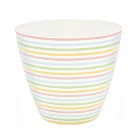 GreenGate Latte Cup Becher Ansley White