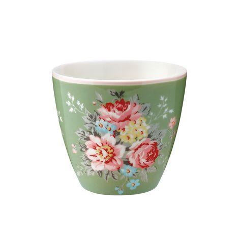 GreenGate Latte Cup Becher Aurelia Green •