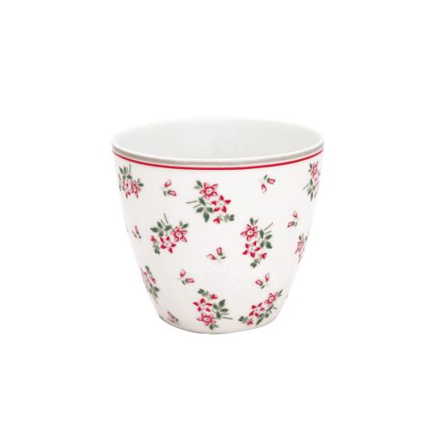 GreenGate Latte Cup Becher Avery White