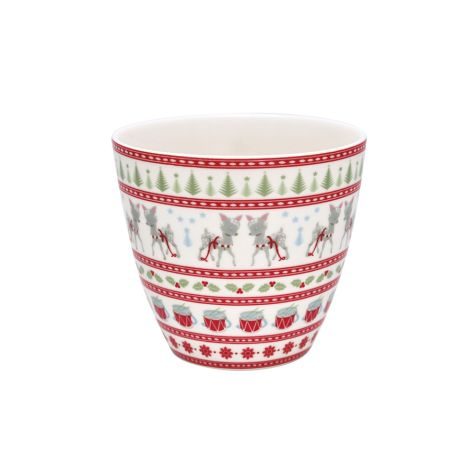 GreenGate Latte Cup Becher Bambi White