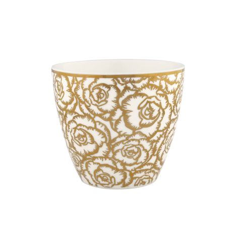 Gate Noir by GreenGate Latte Cup Blossom Gold •