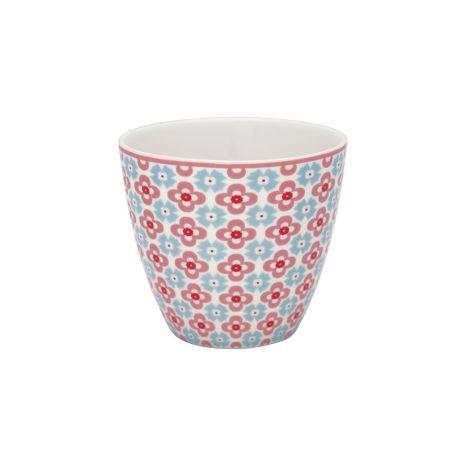 GreenGate Latte Cup Becher Cordelia White