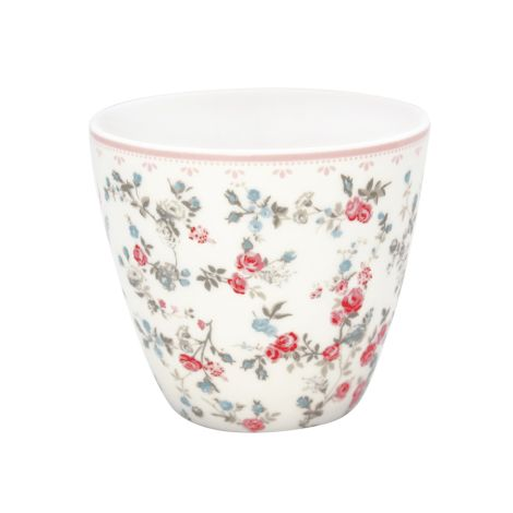 GreenGate Latte Cup Becher Carly White