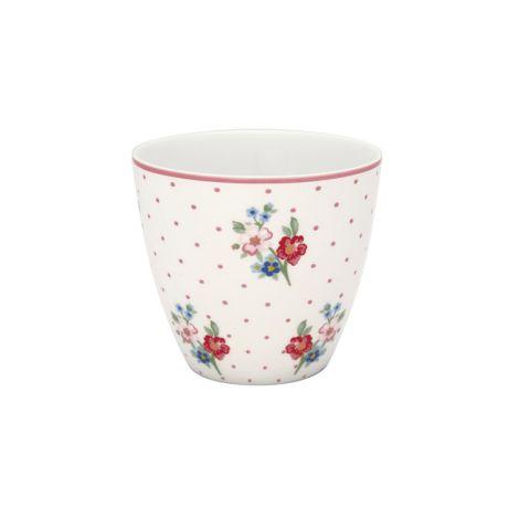 GreenGate Latte Cup Becher Eja White