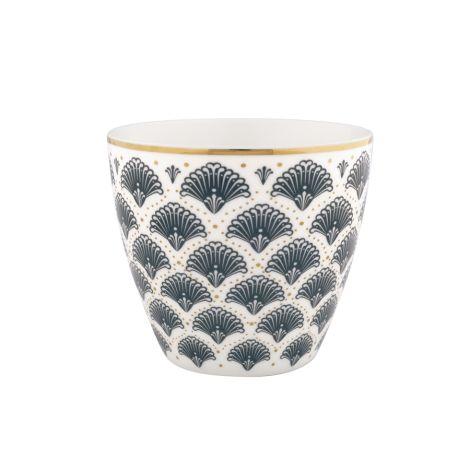 Gate Noir by GreenGate Latte Cup Elvina Grey