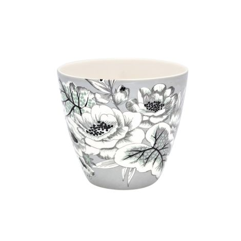 GreenGate Latte Cup Becher Felicity Grey