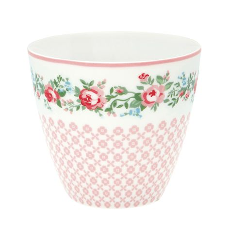 GreenGate Latte Cup Becher Gabby White