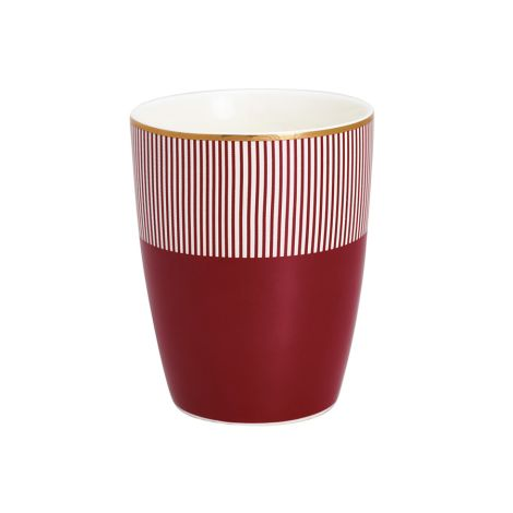Gate Noir by GreenGate Latte Cup Becher Corine Bordeaux