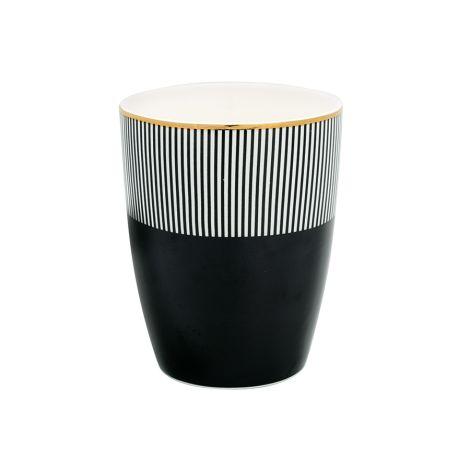 Gate Noir by GreenGate Latte Cup Becher Corine Black