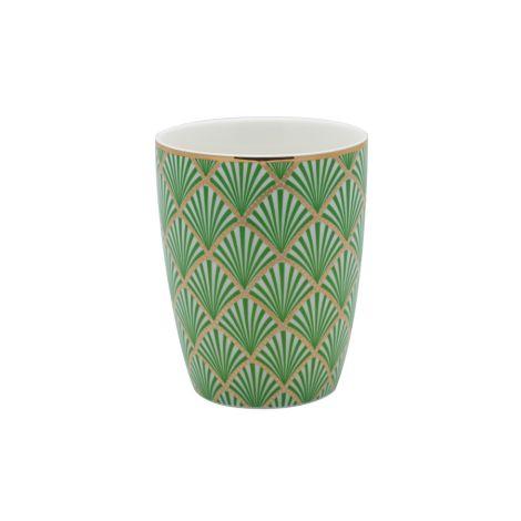 Gate Noir by GreenGate Latte Cup Becher Fan Green